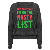 Nasty List Pullover