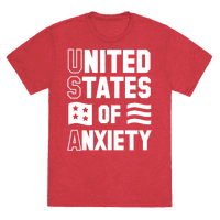 United States of Anxiety Tee
