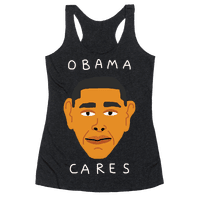 Obama Cares Racerback