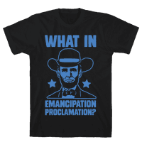 What in Emancipation Proclamation? Blue