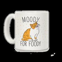 Moody For Foody Cat