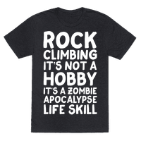 Rock Climbing: It's Not A Hobby It's A Zombie Apocalypse Life Skill