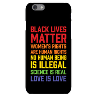 Black Lives Matter List Phonecase