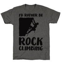 Id Rather Be Rock Climbing Tee