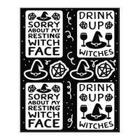Drink Up Witches Stickers