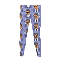 Neil deGrasse Tyson Pattern Legging