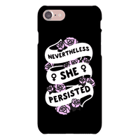 Nevertheless She Persisted (Feminist Ribbon) Phonecase