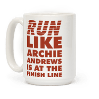Run like Archie is at the Finish Line