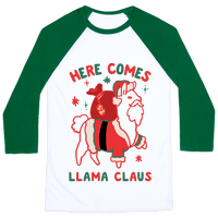 Here Comes Llama Claus