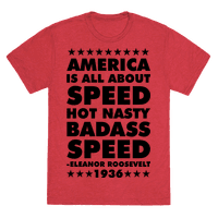 America is All About Speed