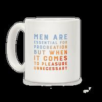 Men Aren't Necessary Quote