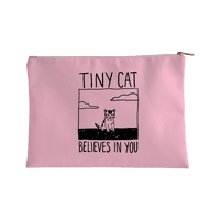 Tiny Cat Believes In You Accessorybag