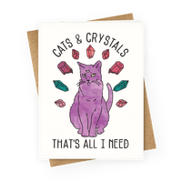 Cats and Crystals