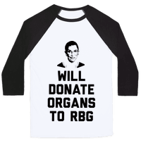 Will Donate Organs To RBG
