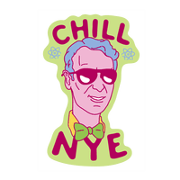 Chill Nye Wall-decal