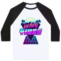 Fucking YIKES Retro Wave T-Shirt | LookHUMAN