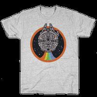 Retro Rainbow Falcon