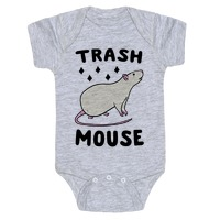 d7ff74373 Trash Mouse Baby One-Piece | LookHUMAN