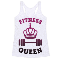 Fitness Queen Racerback