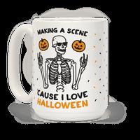 Making A Scene Cause I Love Halloween