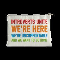 Introverts Unite Accessorybag