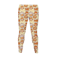 I LOVE PURRMPKIN PIE Legging