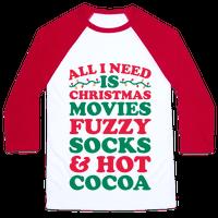 All I Need Is Christmas Movies, Fuzzy Socks & Hot Cocoa