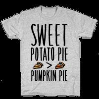 Sweet Potato Pie > Pumpkin Pie