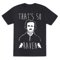 That's So Raven Parody White Print