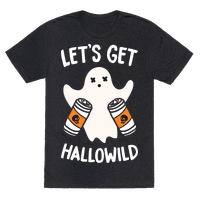 Lets Get Hallowild (White) Tee