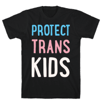 Protect Trans Kids White Print