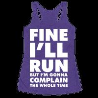 Fine I'll Run