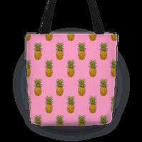 Pink Pineapple Pattern