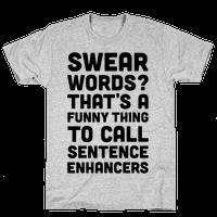 Swear Words Sentence Enhancers