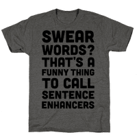 Swear Words Sentence Enhancers