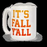 Its Fall Yall Mug