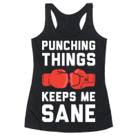 Punching Things Keeps Me Sane