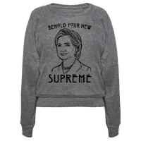 Behold Your Next Supreme Hillary Parody Pullover