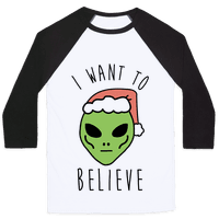 Christmas Alien I Want To Believe