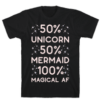 50% Unicorn 50% Mermaid