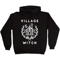 VILLAGE WITCH Fleece Pullover Hoodie