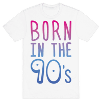 Born In The 90s Tee