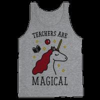 Teachers Are Magical Tank