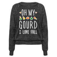 Oh My Gourd I Love Fall (White)