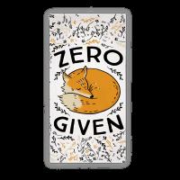 Zero Fox Given Beach Towel Towel