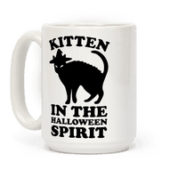 Kitten In The Halloween Spirit Mug