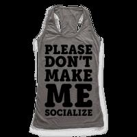 Please Don't Make Me Socialize