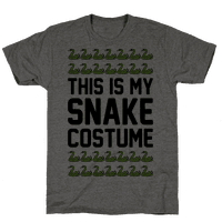 This Is My Snake Costume