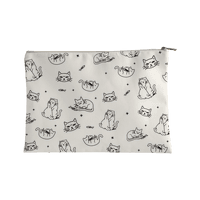 Sassy Cat Pattern Accessorybag