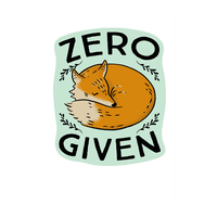 Zero Fox Given Wall-decal